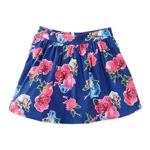 Kate Spate Big Girls Coreen Floral Print Skirt